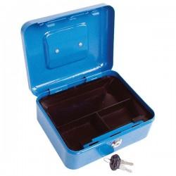 EXTOL CRAFT pénzkazetta, 2db kulccsal, változó színekben, festett acél ; 200×160×90/0,8mm
